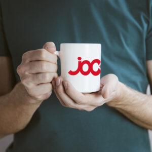 mug blanc logo jock